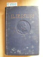 LENIN - OPERE SCELTE - VOLUME I - EDIZIONI IN LINGUE ESTERE - 1946