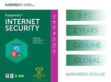 KASPERSKY INTERNET SECURITY 5 DEVICE 2 YEARS GLOBAL GENUINE LICENSE - EMAIL