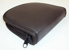 CD/DVD 12 Disc Wallet ~ CASE LOT 24 UNITS ~ Nylon, Zippered, New In Box