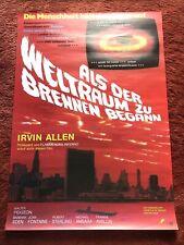 Als der Weltraum zu brennen begann Kinoplakat Poster A1, Barbara Eden, Allen