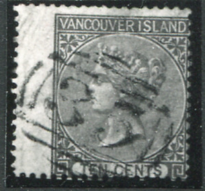VANCOUVER ISLAND (25248): PHOTOGRAPH ONLY of SPERATI QV 10c
