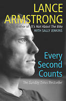 Every Second Counts by Lance Armstrong, Paperback Book, Acceptable, FREE & Fast