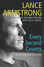 Every Second Counts by Lance Armstrong (Paperback, 2004) Cycling Book