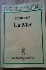 Debussy la mer taschenpartitur