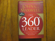 "JOHN  C.  MAXWELL  Signed  Book (""THE  360  LEADER""-2005 First Edition Hardback)"