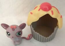 New listing Littlest Pet Shop Mouse with Cupcake House great condition nice kid toy