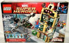 Marvel Lego 76005 SPIDER-MAN DAILY BUGGLE SHOWDOWN Dr. Doom Beetle Jameson Nova