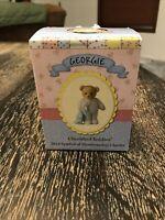 Cherished Teddies Georgie 2014 Club Series CT0120 Figure Pajamas