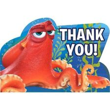 Finding Dory Birthday Party Thank You Postcards 8 Ct