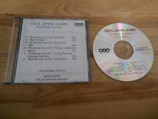 CD pop Cecil Jonni Lauro-EV 'Body Cha Cha (6 chanson) promo éoliennes sc trio B/w Insert