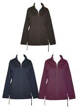Schneider Sportswear Damen Long Jacke Sweatjacke Hoodie Freizeitjacke Baumwolle