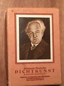 Dichter - Quartett Schönste deutsche Dichtkunst  Altenburg Box  komplett Top!!