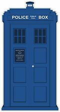 "TARDIS Dr Who Phone Booth 6""x3"" vinyl decal sticker"
