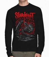 Ashen One and Slave Knight Gael Dark Souls x Slipknot Black Long Sleeve T-Shirt