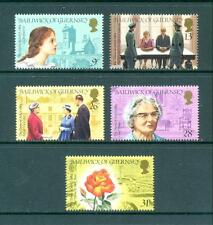Guernsey 1984 100th Anniv Birth Hathaway Set. One postage for multiple buys. Rx