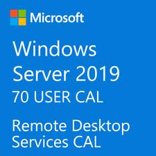 Microsoft Windows Server 2019 Remote Desktop Services RDS 70 USER CAL License