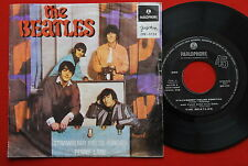 "BEATLES STRAWBERRY FIELDS/AND YOUR BIRD/PENNY LANE/I'M ONLY 1967 EXYU 7"" PS EP"