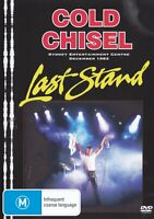 COLD CHISEL - LAST STAND D/Remastered All Region PAL DVD ~ JIMMY BARNES *NEW*