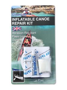 Stormsure Inflatable Canoe & Kayak Repair Kit Fix Inflatables Sealant Tear Rip
