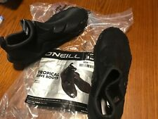 ONeill Tropical Dive Boots 3mm Boot Size: 8