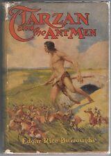 TARZAN and the ANT MEN by Edgar Rice Burroughs J. Allen St. John Art