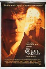 The Talented Mr. Ripley 27x40 Original Movie Poster 1999 Matt Damon, Jude Law