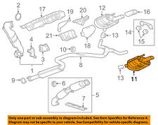 Buick GM OEM 11-13 Regal 2.0L-L4-Muffler 13311785