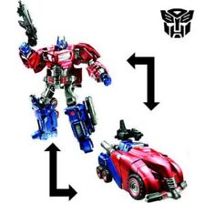Hasbro Transformers Generations Deluxe Class Cybertronian Optimus Prime USA WFC