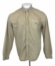 Ralph Lauren Denim & Supply Long Sleeve Shirt Tan Beige Mens XL