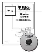 Bobcat V417 VersaHANDLER Workshop Repair Service Manual 6904956 CD + DL