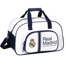 OFFICIAL Real Madrid Travel Sports Bag Weekend Gym PREMIUM Duffel Bag 40cm