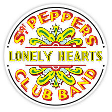 "The Beatles Sgt. Peppers Lonely Hearts sticker decal 4"" x 4"""