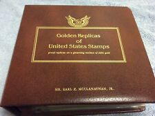 41 Golden Replicas Of United States FDC 2005-06 Stamps 22kt Gold. Constellations