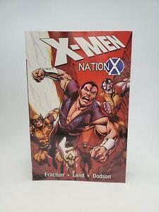 Marvel X-Men NATION X Paperback Graphic Novel