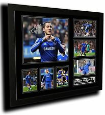 EDEN HAZARD 2 CHELSEA FC SIGNED LIMITED EDITION FRAMED MEMORABILIA