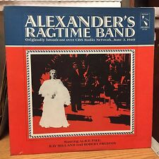 Alexander's Ragtime Band LP Pelican 1943 VG+ Hits Now It Can Be Told/Blue Skies