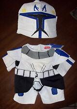 Build a Bear BAB Star Wars Outfit & Helmet Light Saber Cape Shoes/boots