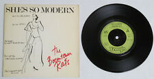 """Boomtown Rats (Bob Geldof)-She'S So Modern 7"""" W/Ps-Import England-Ensign Eny 13"""