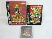 LEGEND OF ZELDA DAICHI Nintendo Game Boy Color JAPAN Boxed Game gb