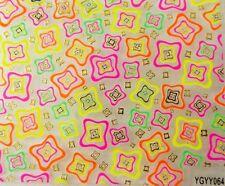 Accessoire ongles,nail art , Stickers autocollants ,  motifs fluo et dorés