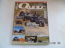 QUAD PASSION MAGAZINE N°142 04/2012 CFMOTO X8 TERRALANDER SSV CAN-AM COMMA   I27
