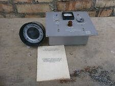 Very Rare Vintage Fire Detector IR Complete Explosion Alarm System 1972