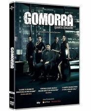 GOMORRA 4 - QUARTA STAGIONE (4 DVD) SERIE TV CULT Edizione Italiana