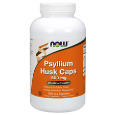 Now Foods, Psyllium Husk Caps, 500 Capsules