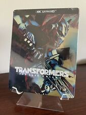 Transformers The Last Knight Steelbook (4K UHD/Blu-ray/Digital) Factory Sealed