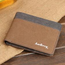 Baellerry Mens Bifold Short Wallet Design Thin Front Pocket Wallet Card Holder