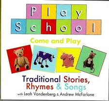 Play School (ABC Tv) cd album- Come & Play,Traditional Stories,Rhymes & Songs