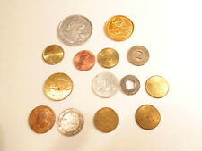Lot of 14 mixed tokens:  parking,  games, Mardi Gras, etc