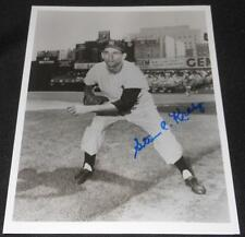 1953 New York Yankees Steve Kraly Signed Autograph 8x10 Photo Authentic S13