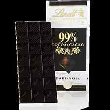 Ebay Deal Lindt Excellence Swiss Dark Chocolate Available 99% 50g